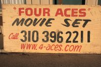 Four Aces Movie Set